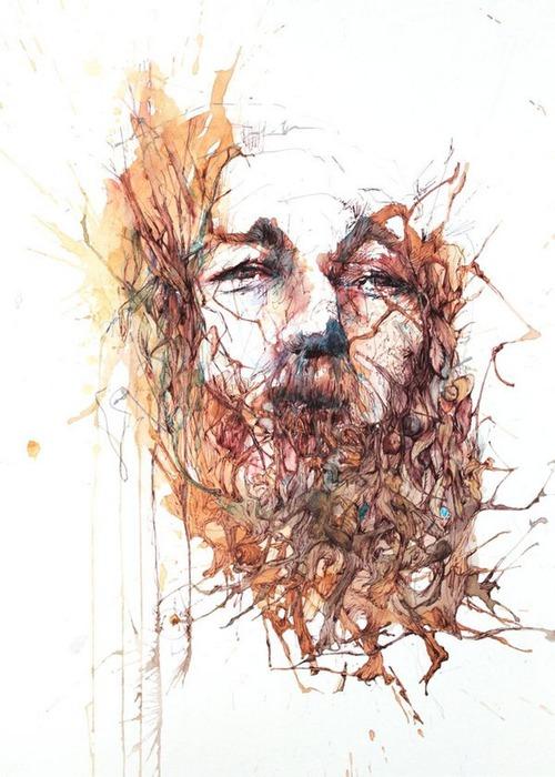 Аанглийский художник Carne Griffiths 42