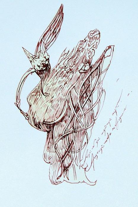 Аанглийский художник Carne Griffiths 51