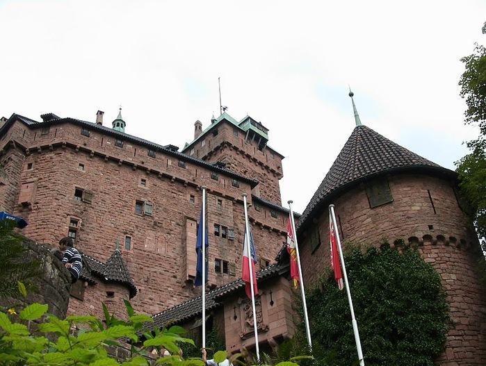 Замок Верхний Кенигсбург (Chateau du Haut-Koenigsbourg) 43153
