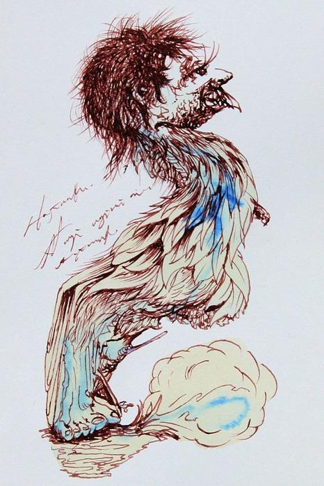 Аанглийский художник Carne Griffiths 56