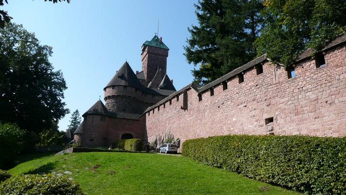 Замок Верхний Кенигсбург (Chateau du Haut-Koenigsbourg) 59411