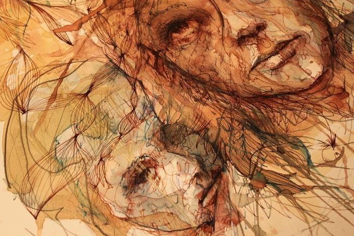 Аанглийский художник Carne Griffiths 71