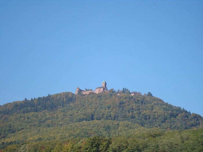 Замок Верхний Кенигсбург (Chateau du Haut-Koenigsbourg) 61457