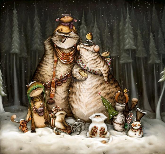 christmas_time_by_anuk-d2pqbzs (700x654, 235Kb)