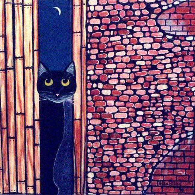 Лунная кошка (650x650, 154Kb)