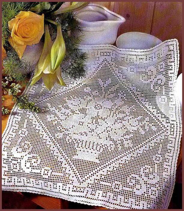 Полупальто вязание