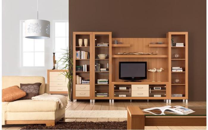 Модульная система мебели для гостиной Рост в