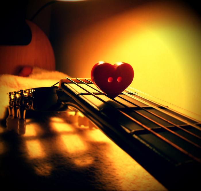 гитара, музыка, творчество, любовь