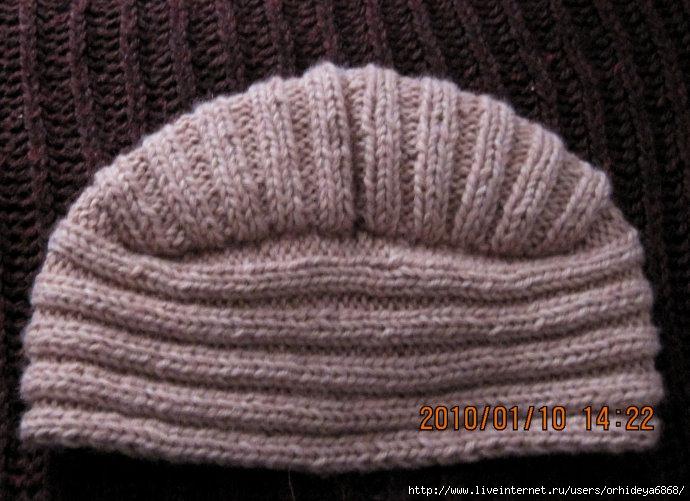 Вязание чалмы крючком.