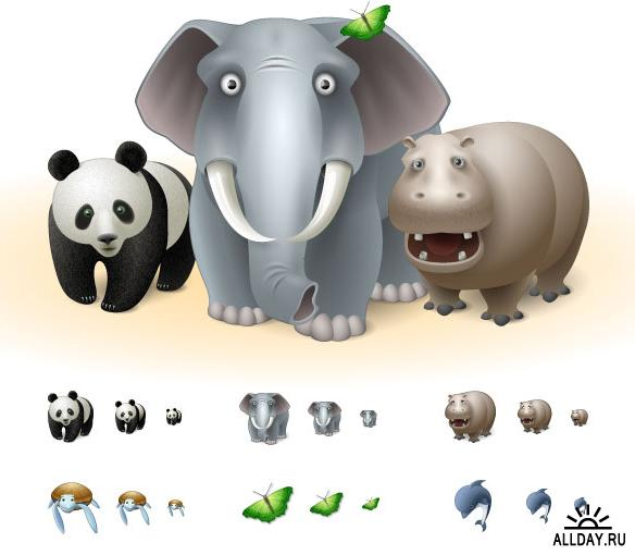 Animals icons.