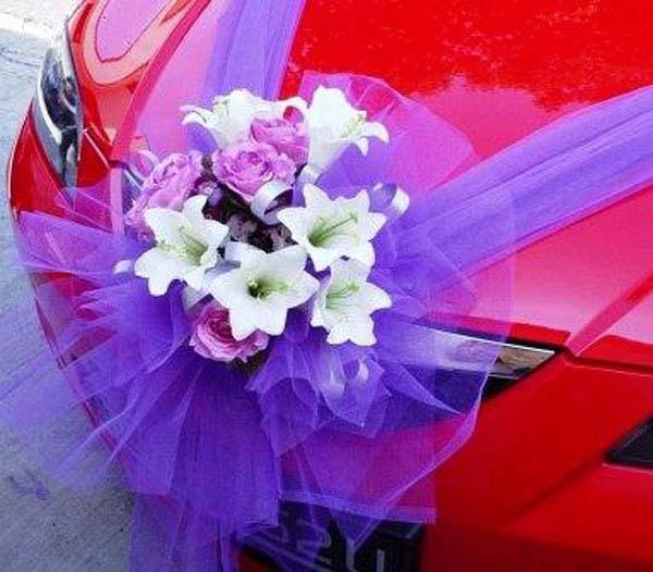 Фото украшение машин на свадьбу фото своими