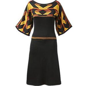 Комбинированное платье для полных своими руками