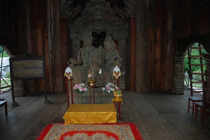 Храм истины в паттайе легенда