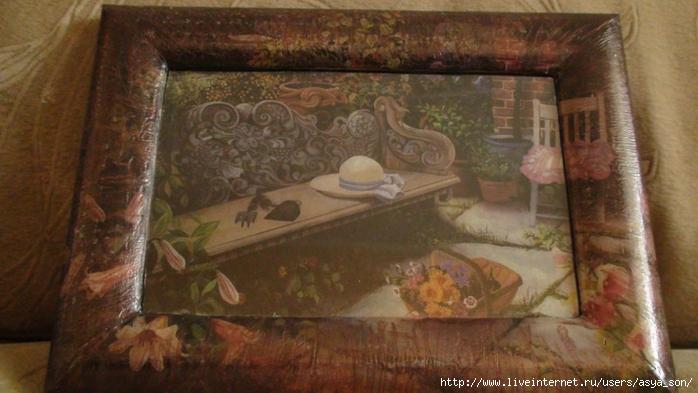 Картины из декупажа фото