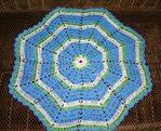 И к земле ее хрен нагнешь. схема вязания круглого бабушкиного коврика из пакетов крючком.  Скриншоты.