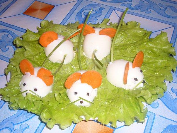 Овощные салаты для детей с