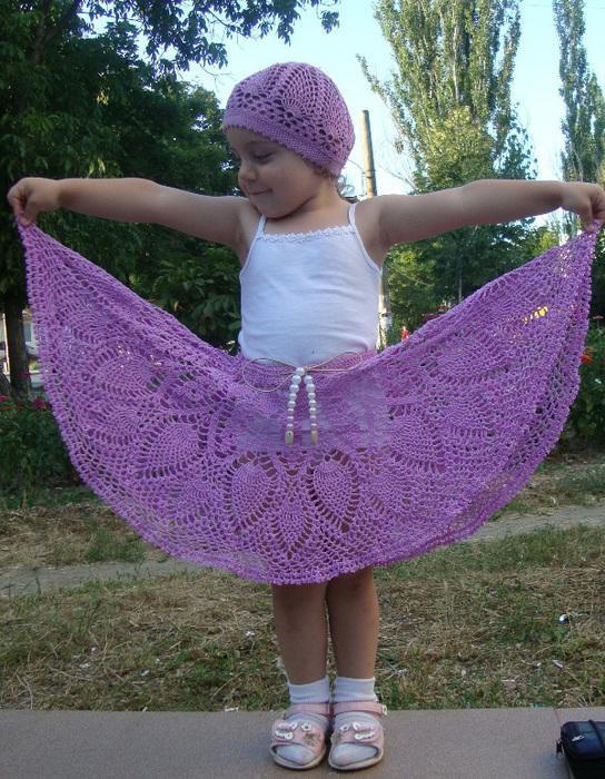 вязание крючком схемы бесплатно береты шапочки для девочек от лет на...
