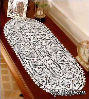 для вязания салфетки: 80г