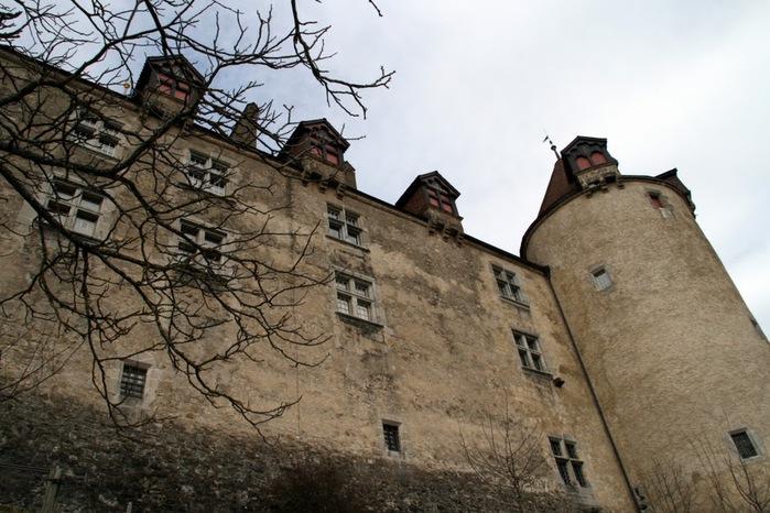 Замок графов де Грюйер (Chateau de Gruyeres) 41953
