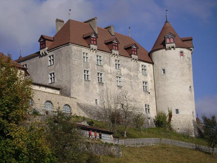 Замок графов де Грюйер (Chateau de Gruyeres) 86369