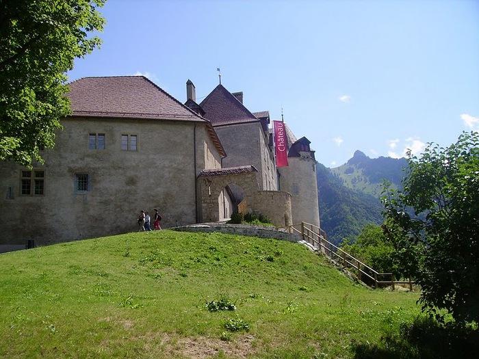 Замок графов де Грюйер (Chateau de Gruyeres) 16147