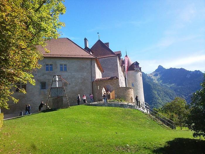 Замок графов де Грюйер (Chateau de Gruyeres) 78357