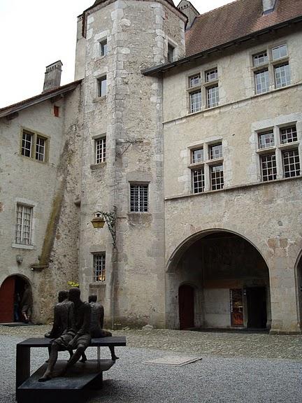Замок графов де Грюйер (Chateau de Gruyeres) 57061