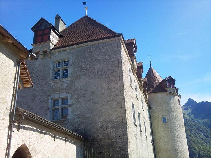 Замок графов де Грюйер (Chateau de Gruyeres) 50727