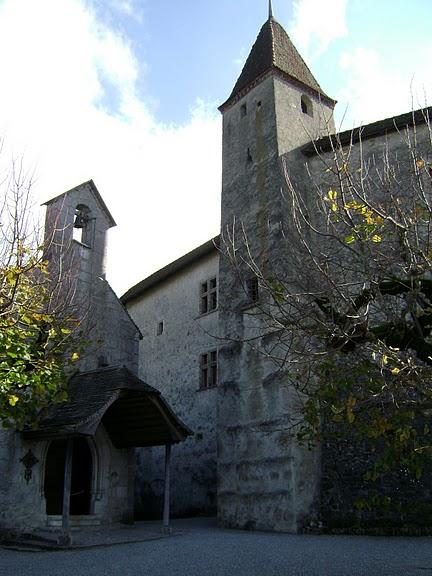 Замок графов де Грюйер (Chateau de Gruyeres) 31578