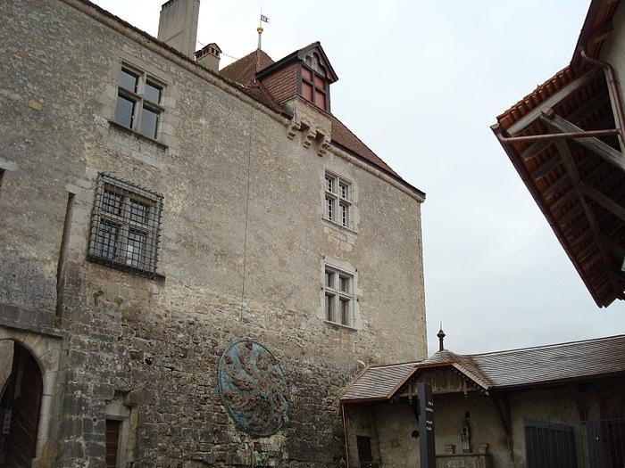 Замок графов де Грюйер (Chateau de Gruyeres) 12081