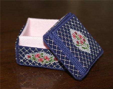 Вышивка бисером шкатулка рукоделия 38