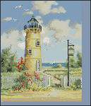Превью Telegraph Hill Lighthouse (перенабор) (375x435, 204Kb)