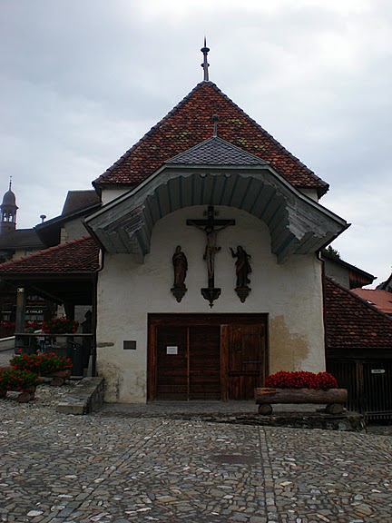 Замок графов де Грюйер (Chateau de Gruyeres) 25854