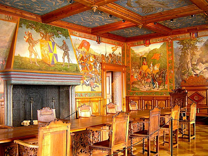 Замок графов де Грюйер (Chateau de Gruyeres) 62665