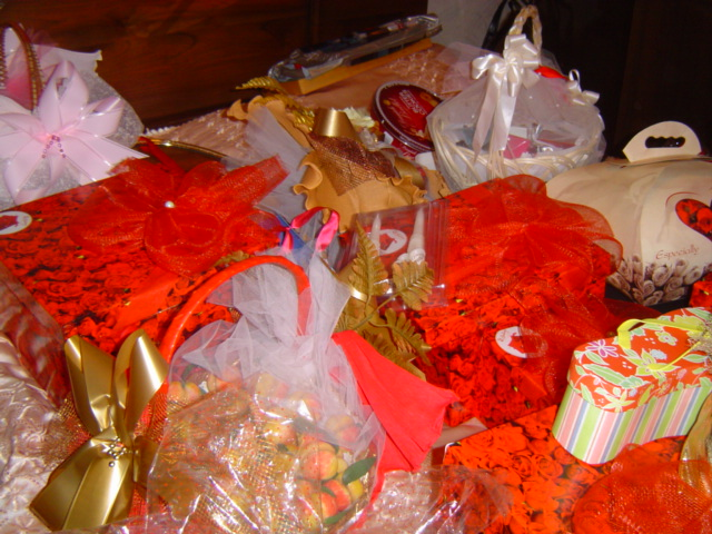 Подарки при сватовстве со стороны невесты 319
