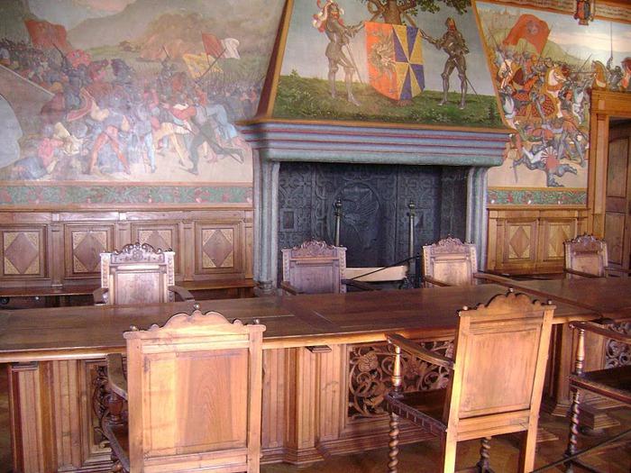 Замок графов де Грюйер (Chateau de Gruyeres) 25413