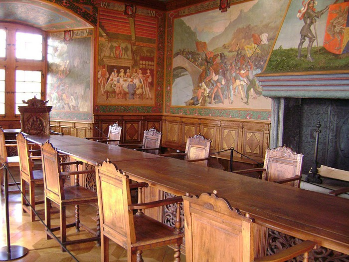 Замок графов де Грюйер (Chateau de Gruyeres) 77117