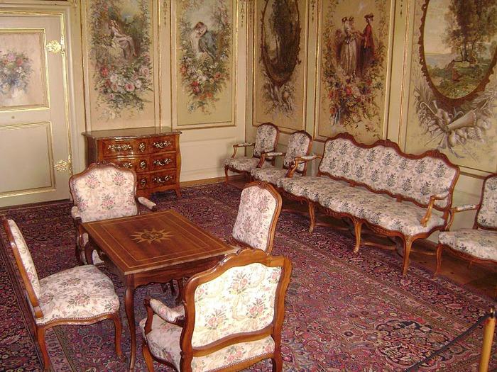 Замок графов де Грюйер (Chateau de Gruyeres) 56180