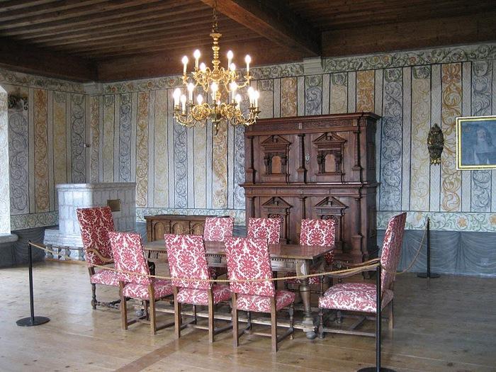Замок графов де Грюйер (Chateau de Gruyeres) 84089