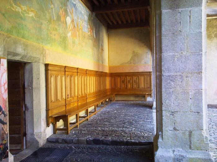 Замок графов де Грюйер (Chateau de Gruyeres) 15583