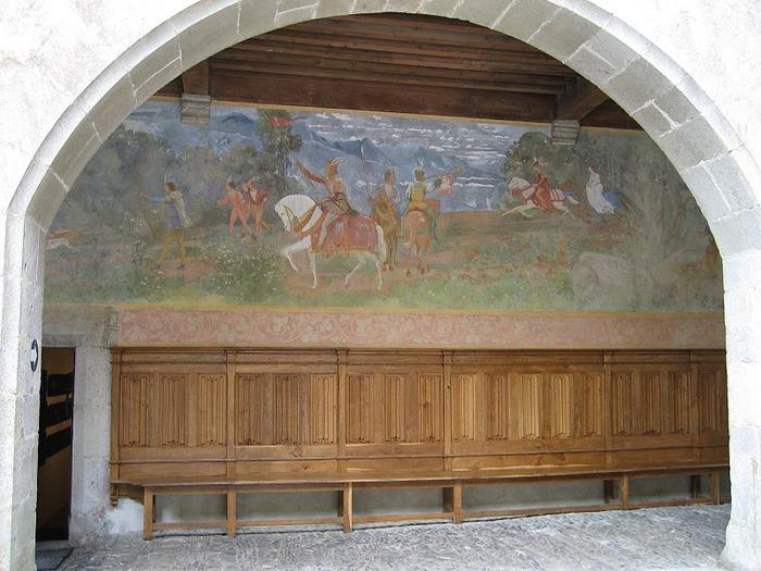 Замок графов де Грюйер (Chateau de Gruyeres) 86847