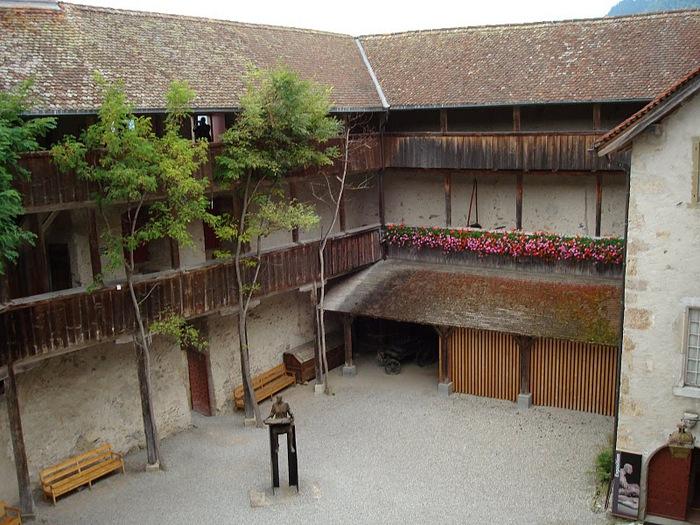 Замок графов де Грюйер (Chateau de Gruyeres) 35724