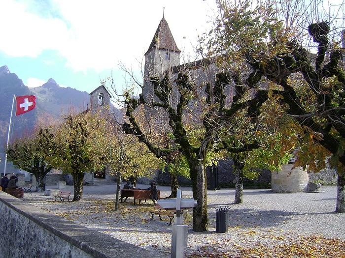 Замок графов де Грюйер (Chateau de Gruyeres) 68088