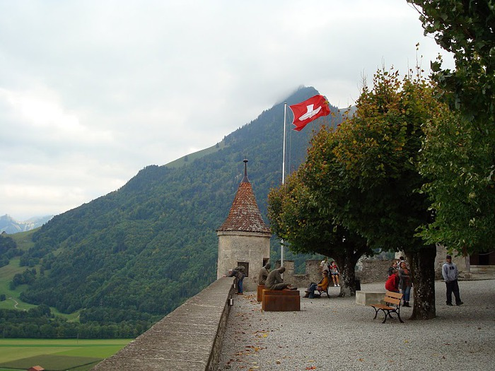 Замок графов де Грюйер (Chateau de Gruyeres) 55003