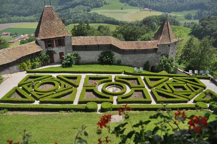 Замок графов де Грюйер (Chateau de Gruyeres) 42893