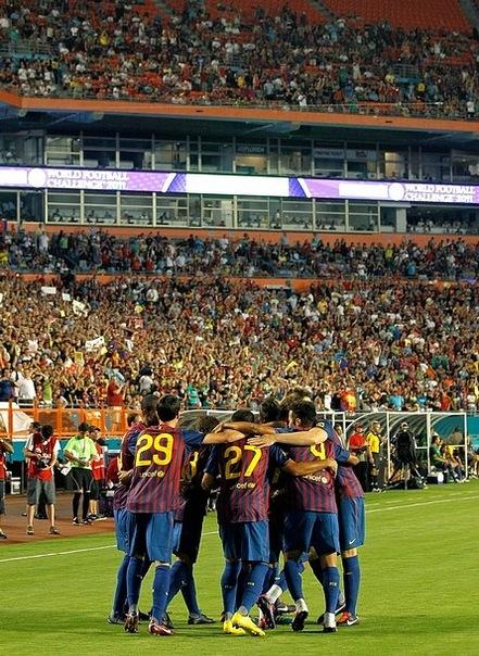 """Ispanijos  """"Barcelona """" rezultatu 1:4 pralaimėjo Meksikos  """"Chivas..."""