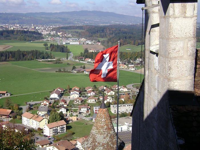 Замок графов де Грюйер (Chateau de Gruyeres) 69119