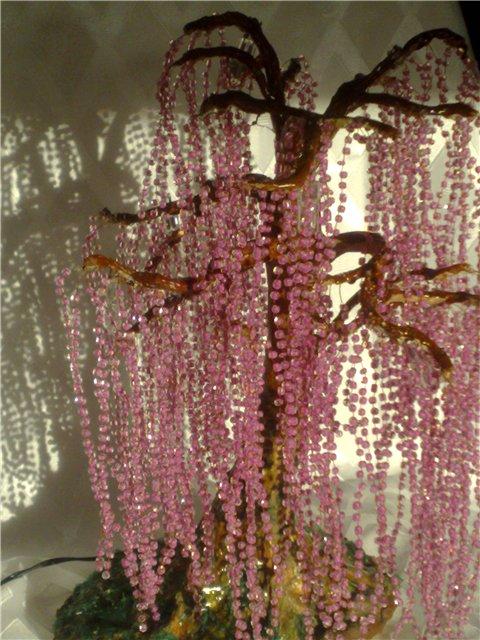 деревья светильники из бисера - Сайт о бисере.