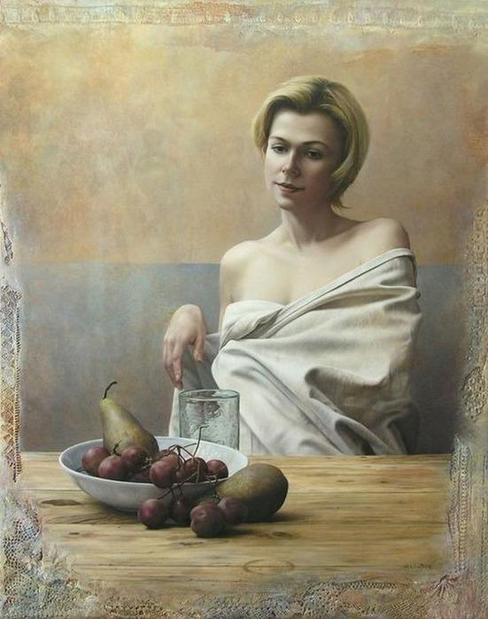 Художники портретисты - Паскаль Човеби 28