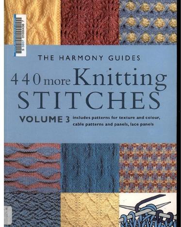 Harmony 440 More Knitting Stitches_1 (373x468, 43Kb)